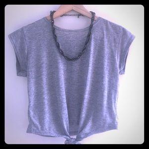 Chunky Gunmetal Chain, Statement collar necklace